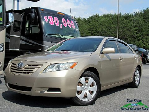 Desert Sand Mica Toyota Camry LE.  Click to enlarge.