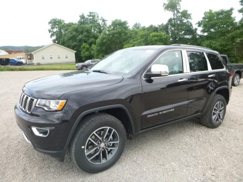 Sangria Metallic Jeep Grand Cherokee Limited 4x4.  Click to enlarge.