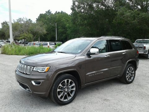 Walnut Brown Metallic Jeep Grand Cherokee Overland.  Click to enlarge.