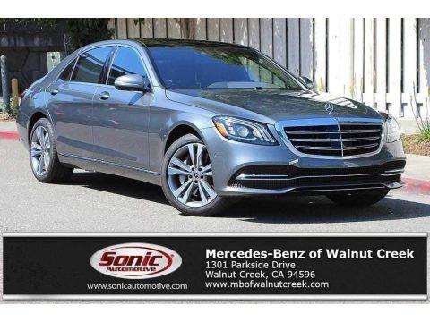 Selenite Grey Metallic Mercedes-Benz S 450 4Matic Sedan.  Click to enlarge.