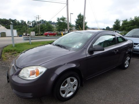 Majestic Amethyst Metallic Chevrolet Cobalt LS Coupe.  Click to enlarge.