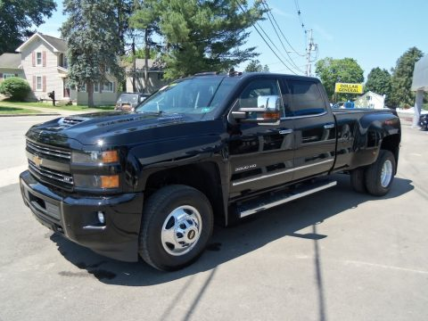 Chevrolet Silverado 3500HD LTZ Crew Cab 4x4 Dual Rear Wheel