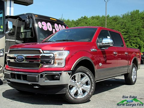 Ruby Red Ford F150 King Ranch SuperCrew 4x4.  Click to enlarge.