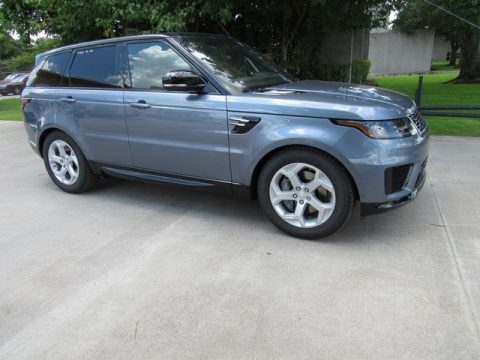 Byron Blue Metallic Land Rover Range Rover Sport HSE.  Click to enlarge.