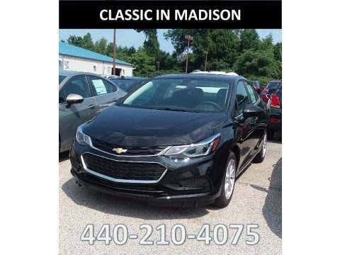 Mosaic Black Metallic Chevrolet Cruze LT.  Click to enlarge.
