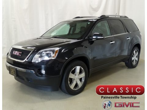 Carbon Black Metallic GMC Acadia SLT.  Click to enlarge.