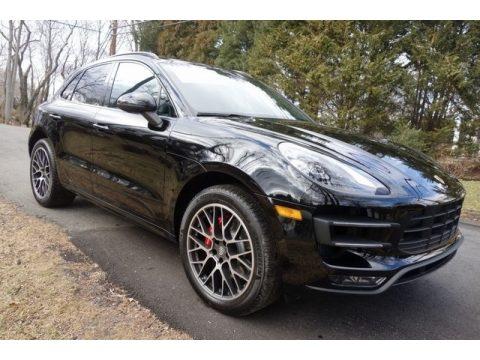 Black Porsche Macan Turbo.  Click to enlarge.