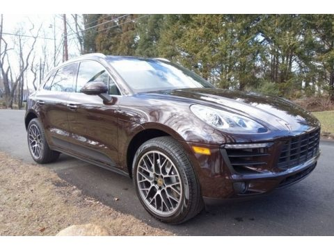 Mahogany Metallic Porsche Macan S.  Click to enlarge.