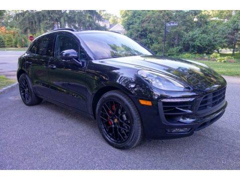 Black Porsche Macan GTS.  Click to enlarge.