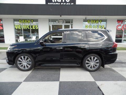 Black Onyx Lexus LX 570.  Click to enlarge.