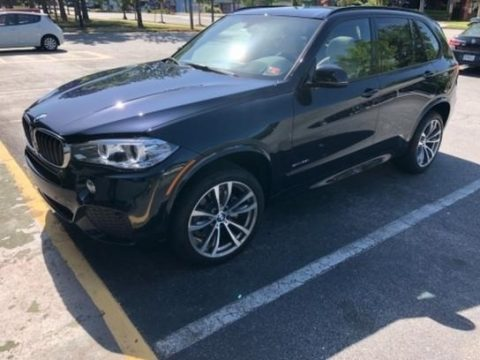 Carbon Black Metallic BMW X5 sDrive35i.  Click to enlarge.