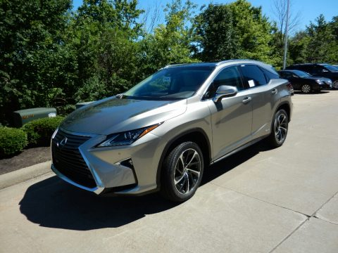 Atomic Silver Lexus RX 450h AWD.  Click to enlarge.