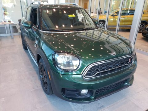 British Racing Green II Mini Countryman Cooper S All4.  Click to enlarge.