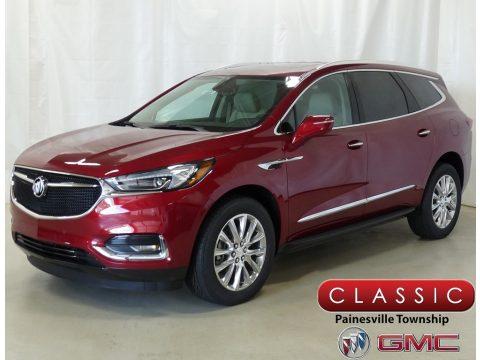 Red Quartz Tintcoat Buick Enclave Premium AWD.  Click to enlarge.