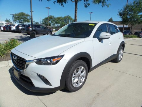Ceramic Metallic Mazda CX-3 Sport AWD.  Click to enlarge.