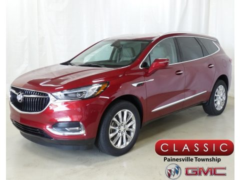 Red Quartz Tintcoat Buick Enclave Essence AWD.  Click to enlarge.