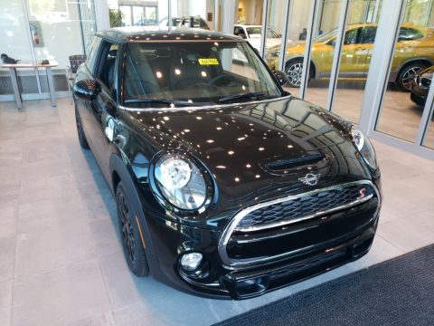 Midnight Black Mini Hardtop Cooper S 2 Door.  Click to enlarge.