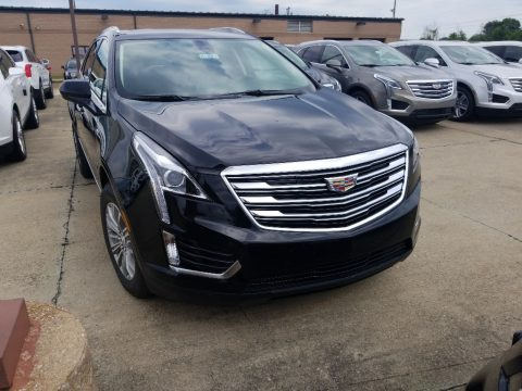 Stellar Black Metallic Cadillac XT5 Luxury AWD.  Click to enlarge.