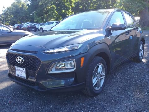 Thunder Gray Hyundai Kona SE AWD.  Click to enlarge.