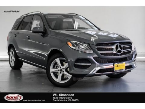 Selenite Grey Metallic Mercedes-Benz GLE 350.  Click to enlarge.