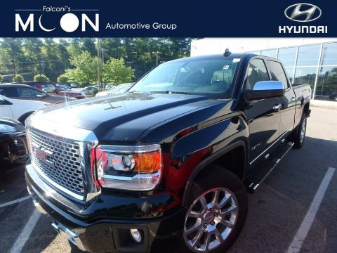 Onyx Black GMC Sierra 1500 Denali Crew Cab 4x4.  Click to enlarge.