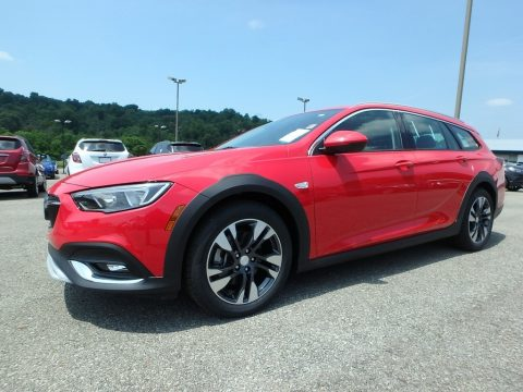 Sport Red Buick Regal TourX Preferred AWD.  Click to enlarge.
