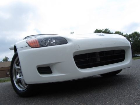 Grand Prix White Honda S2000 Roadster.  Click to enlarge.