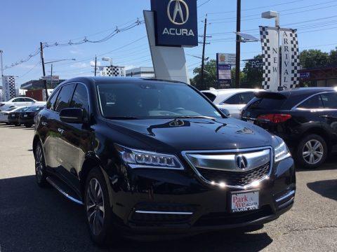 Acura MDX SH-AWD Technology