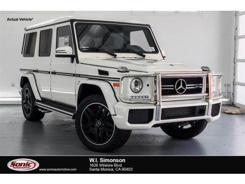 designo Manufaktur Mystic White Mercedes-Benz G 63 AMG.  Click to enlarge.