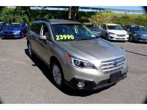 Carbide Gray Metallic Subaru Outback 2.5i Premium.  Click to enlarge.