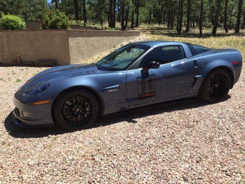 Jetstream Blue Tintcoat Metallic Chevrolet Corvette Z06 Carbon Limited Edition.  Click to enlarge.