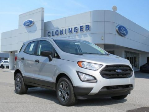 Moondust Silver Ford EcoSport S.  Click to enlarge.