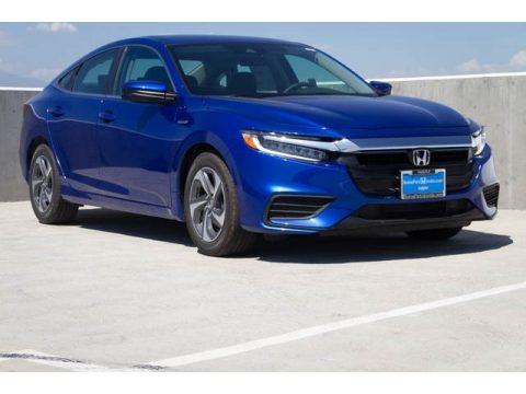 Aegean Blue Metallic Honda Insight EX. Click To Enlarge.