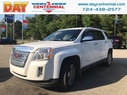 Olympic White GMC Terrain SLE AWD.  Click to enlarge.