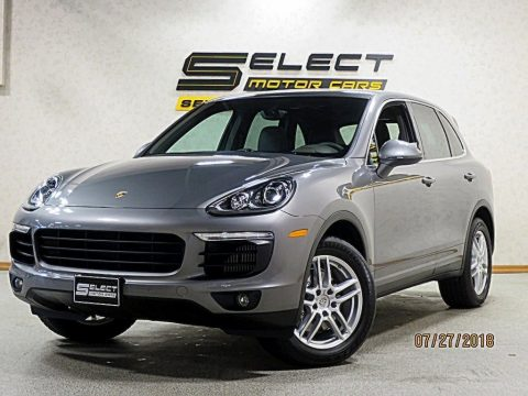 Palladium Metallic Porsche Cayenne S.  Click to enlarge.