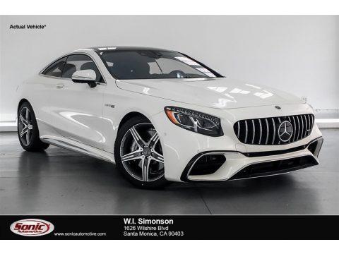 designo Diamond White Metallic Mercedes-Benz S AMG S63 Coupe.  Click to enlarge.