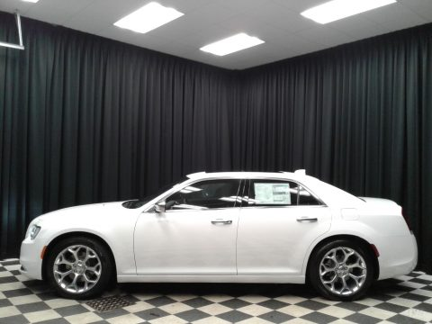 Bright White Chrysler 300 C.  Click to enlarge.
