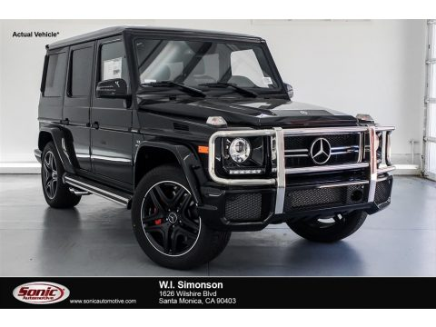 Black Mercedes-Benz G 63 AMG.  Click to enlarge.