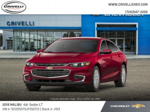 Cajun Red Tintcoat Chevrolet Malibu LT.  Click to enlarge.