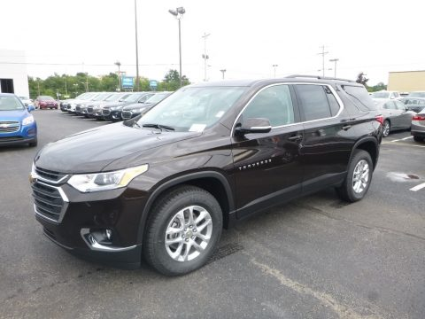 Havana Brown Metallic Chevrolet Traverse LT AWD.  Click to enlarge.