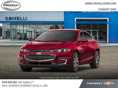 Cajun Red Tintcoat Chevrolet Malibu LT.  Click to enlarge.
