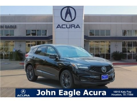 Majestic Black Pearl Acura RDX A-Spec AWD.  Click to enlarge.