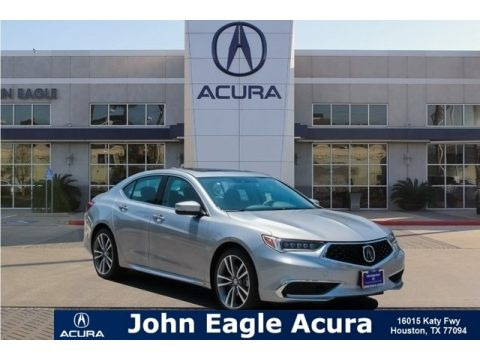 Lunar Silver Metallic Acura TLX V6 Sedan.  Click to enlarge.