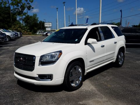Summit White GMC Acadia Denali.  Click to enlarge.