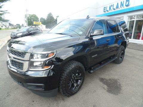 Black Chevrolet Tahoe LS 4WD.  Click to enlarge.