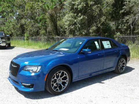 Ocean Blue Metallic Chrysler 300 S.  Click to enlarge.