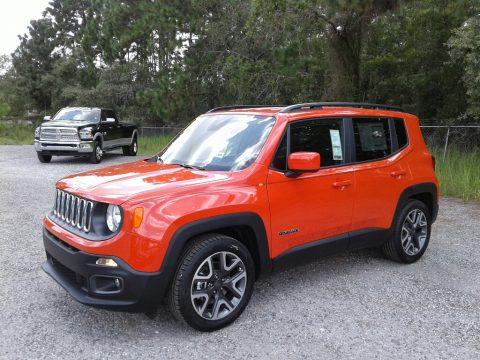 Omaha Orange Jeep Renegade Latitude.  Click to enlarge.