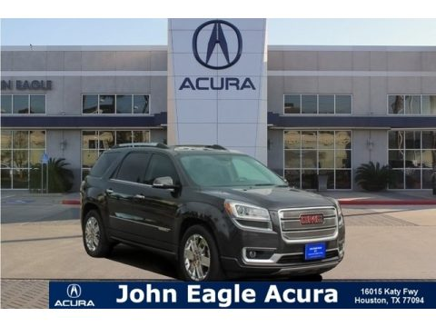 Cyber Gray Metallic GMC Acadia Denali.  Click to enlarge.