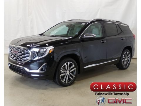 Ebony Twilight Metallic GMC Terrain Denali AWD.  Click to enlarge.