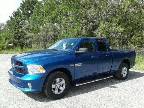 Blue Streak Pearl Ram 1500 Express Quad Cab.  Click to enlarge.